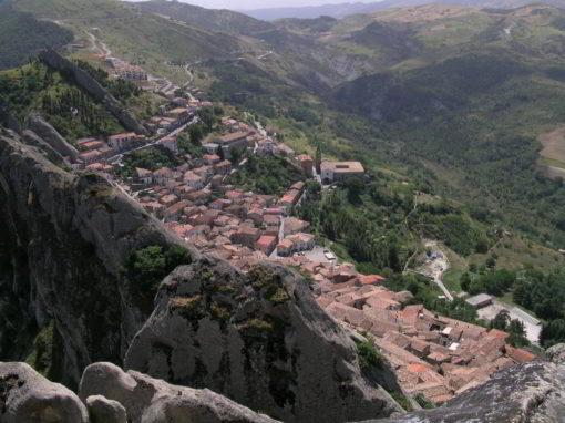 Eredità culturale arabo-berbera nel paesaggio di Pietrapertosa